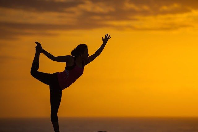 Yoga Pose #sunrise #yoga #fitness