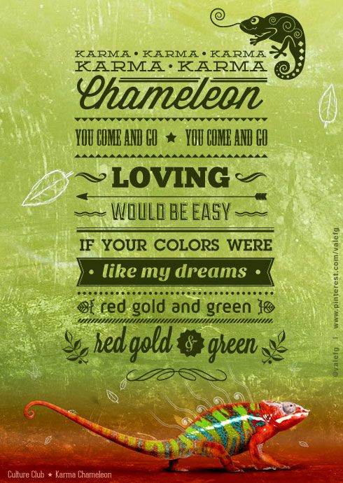 Chameleons Song Lyrics | MetroLyrics