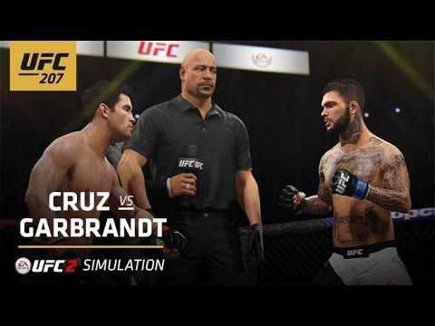 UFC 207 | EA SPORTS UFC 2 Simulation – Cruz vs Garbrandt - YouTube