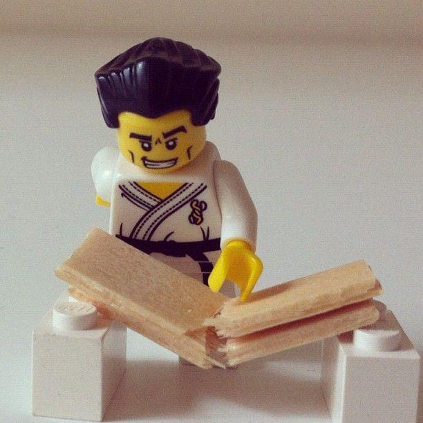 #Lego #karate #chop
