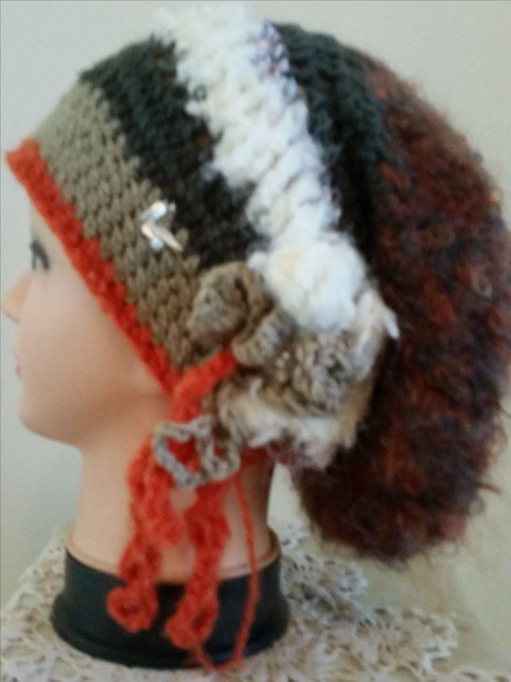 $45 plus postage crochet slouch hat
