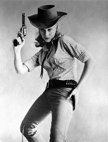 Jane Fonda in 'Cat Ballou', 1965. S)