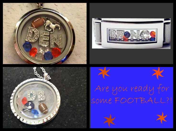 Broncos pre-season game tonight! Show some love for the team in your jewelry! #Broncos www.southhilldesigns.com/knicholls