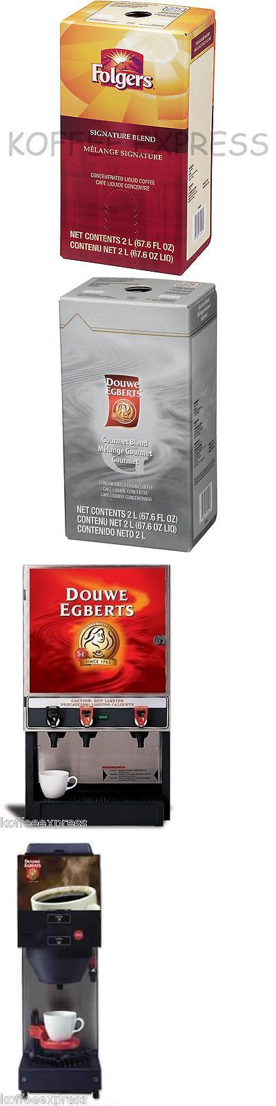 Other Coffee 14309: Folgers Liquid Coffee 2 L Signature Blend (One) - Replaces Douwe Egberts Gourmet -> BUY IT NOW ONLY: $89.99 on eBay!