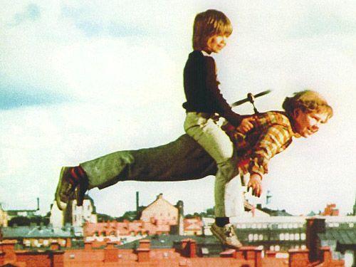 Karlsson und Lillebror!! haha... :))
