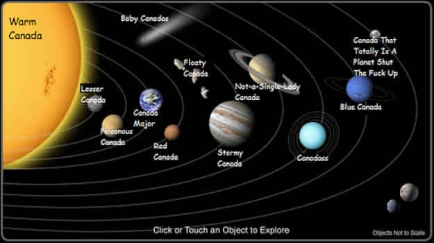 WHY STOP AT THE WORLD WHEN YOU CAN REDRAW THE SOLAR SYSTEM?