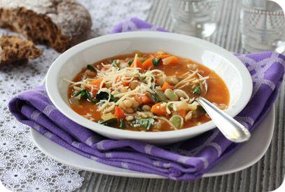 Minestronesoep | Gezonde slanke recepten | Flinndal