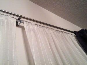 Double Rod Pocket Curtain Rods