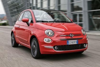 Fiat 500 facelift - 500C front