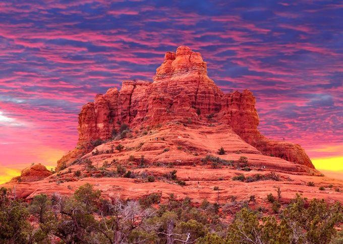 アリゾナ州フェニックスの名所。ウォルトディズニーも愛したセドナは死ぬまでに一度は行きたいスポット。