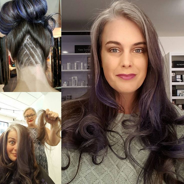Grey is the new blonde. Transitioning to gray hair. Grey hair is beautiful on women. Natural and authentic.