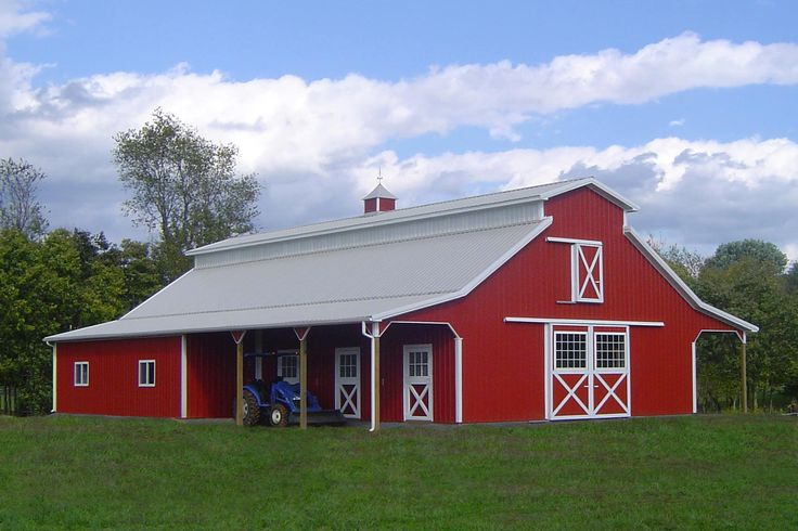 Barn ideas welcome to stockade buildings your 1 for Red barn prefab