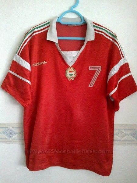 fa6824c81eb Hungary home adidas #7 Kiprich József Match worn shirt 1989. Toegevoegd  door christoforo