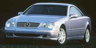 33 - Mercedes Benz CL 500 1999 - Donna