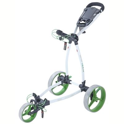 BIG MAX Golf Blade+ Compact Golf Push Cart  The new BLADE+ Golf Push Cart is Ultra-Compact and Ultra Slim (4.9 inches when folded). The Big Max Blade+ is the best trolley in terms of design and functionality.