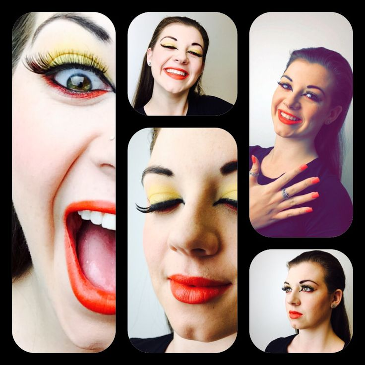 Editorial Shoot Red and Yellow