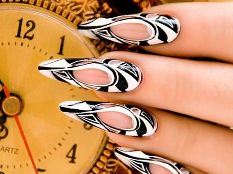 unusual nail art designs, uncommon nail art, uncommon nail art ideas, unusual nail art, unusual nail art ideas, nail art, nail art designs, 5 Unusual Nail Art Ideas