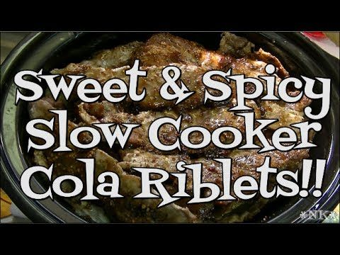 Sweet & Spicy Cola Riblets!! Perfect for Super Bowl! Noreen's Kitchen - YouTube