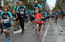 Participants in this year's HBF Run For A Reason in Perth, Sunday. Buy or browse all images at wespix.com.au. PICTURE: NIC ELLIS   THE WEST AUSTRALIAN. TWA-0045190 © WestPix
