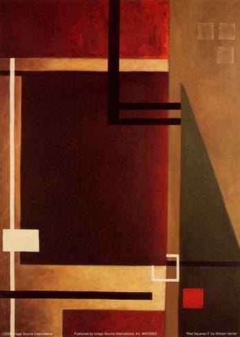 Red Squares II: Squares Ii, Red Squares