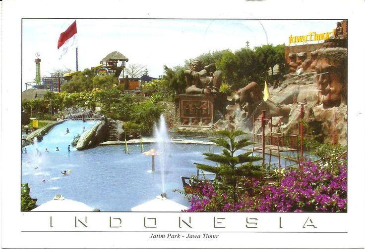 Jatim Park, Jawa Timur, Indonesia. (Postcard by Pelajar Postcard). Terima kasih Chandra Wiyono.