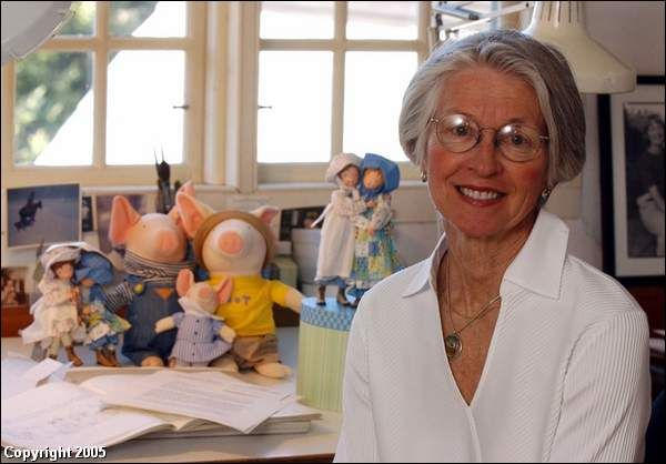 Holly Hobbie, the artist and creator of Holly Hobbie the character.