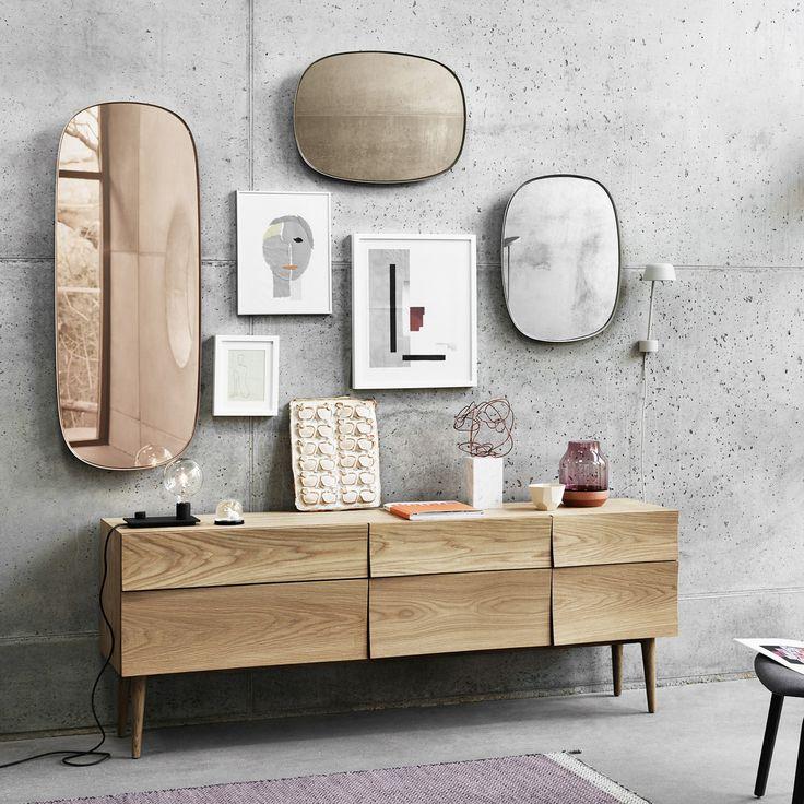 Der Framed Mirror in groß und klein