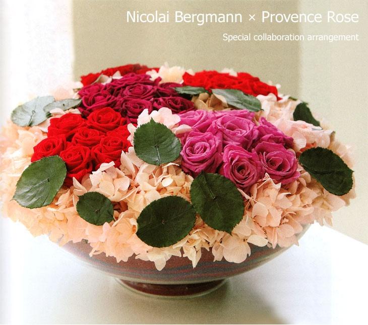 有名アーティストとのコラボ | プリザーブドフラワー花材の通販ならアミファ