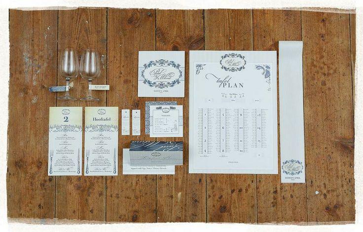 Modern Vintage Wedding Invitations.  #wedding #stationary #modernvintage