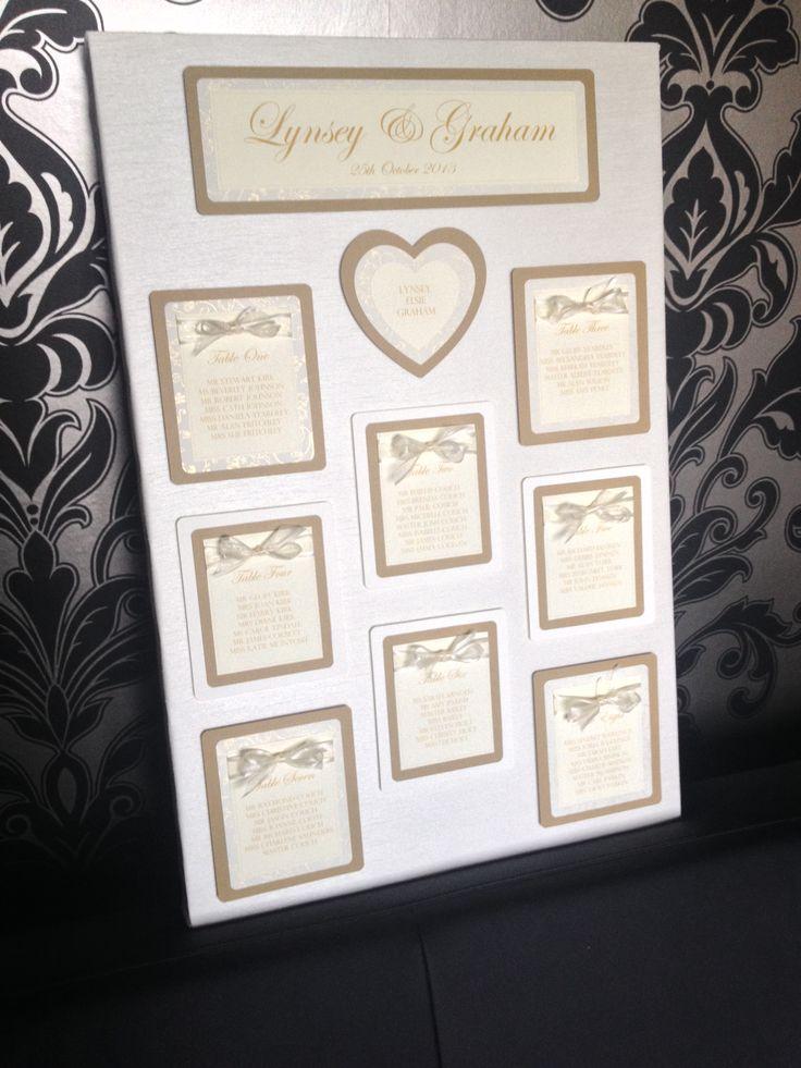Organza Ribbon Bowed Fabric Canvas Covered Wedding Table