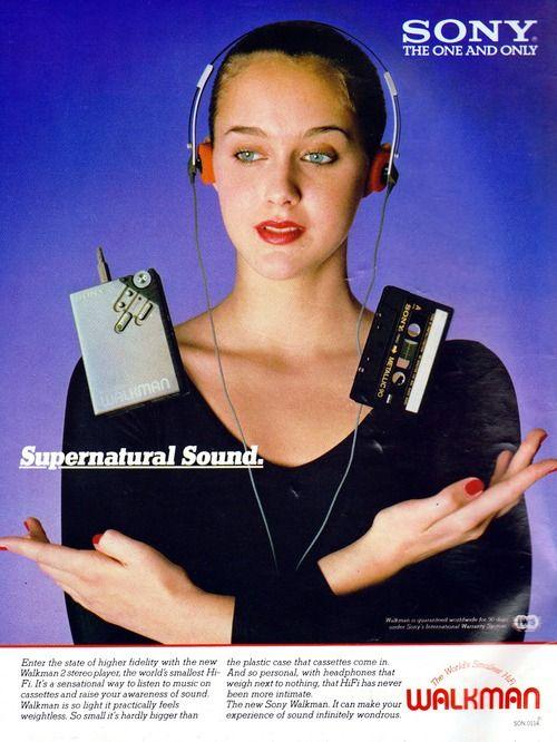 "Sony Walkman, ""Supernatural Sound"""