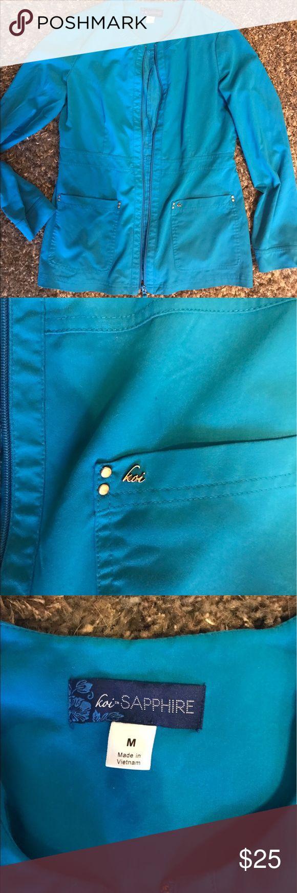 Koi scrub jacket Like new size medium koi scrub jacket koi Jackets & Coats