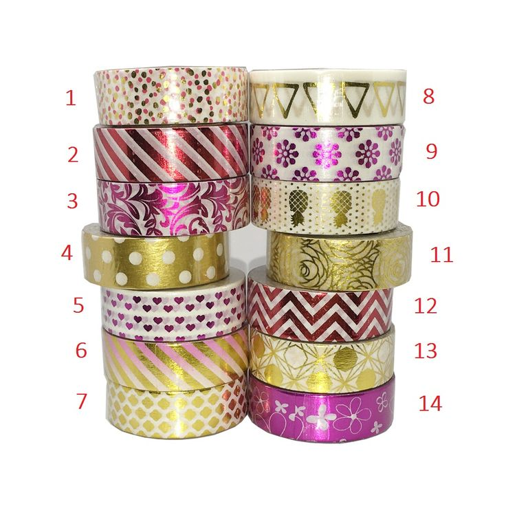 Flower Dot Triangle Gold Foil Washi Paper Tape Kawaii Fita Adesiva Decorativa For Gift Packing Wedding #>=#>=#>=#>=#> Click on the pin to check out discount price, color, size, shipping, etc. Save and like it!