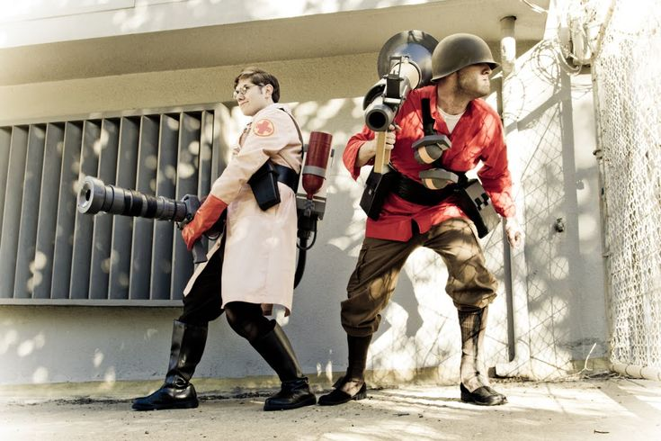 Team Fortress 2 cosplay                                                                                                                                                                                 More
