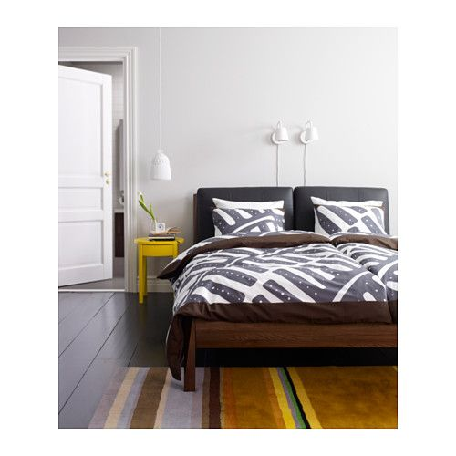 Stockholm Bed Frame Luröy Standard Double Ikea Living La Vida Mission Pinterest Bedroom And
