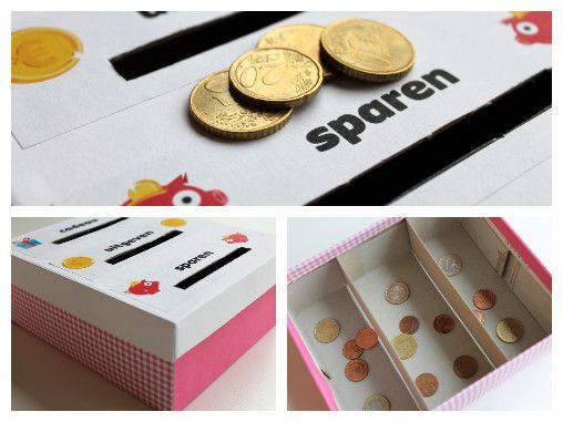 DIY mini-spaarpot – Klasse voor Ouders
