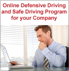 Online Defensive Driving and Safe Driving Program for your Company