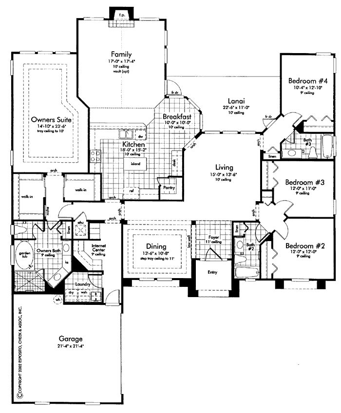 monster with 2 master suites floor plans trend home one story house plans with 2 master suites ehouse plan