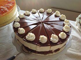 Tein tämän kakun Ravintolapäivääni nyt marraskuussa ja ohjeen siitä olin kirjoittanut muistilapulleni, joten ennenkuin se hukkuu, täytynee p...