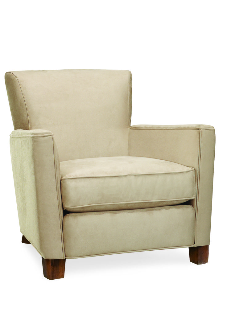 Lee Industries Chair In Shelley Stone