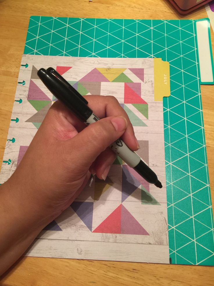 DIY Pocket Folders for The Happy Planner (in under 10 steps!) – cordalee