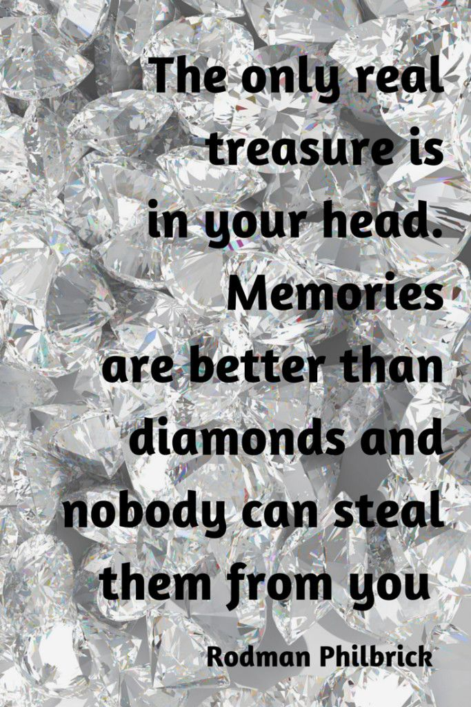 Memories are Better than Diamonds