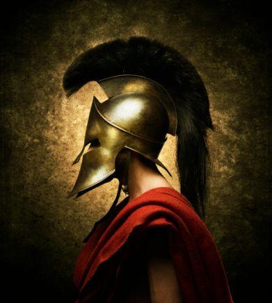 Grecian warrior