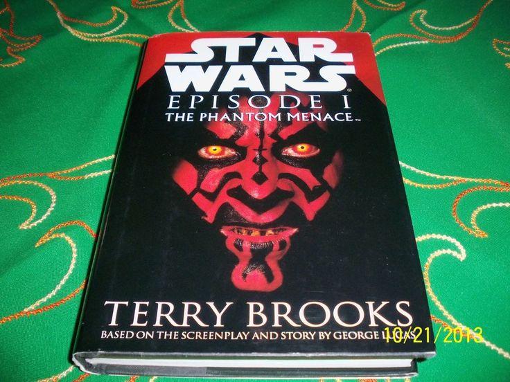 STAR WARS EPISODE I 1 PHANTOM MENACE 1ST EDITION DARTH SITH/MAUL COVER BOOK 1999