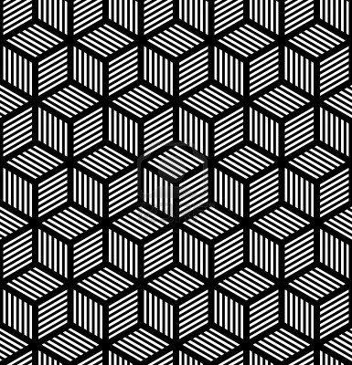 Perfecta textura geométrica en el diseño del op art. Vector de arte. Foto de archivo - 14547907