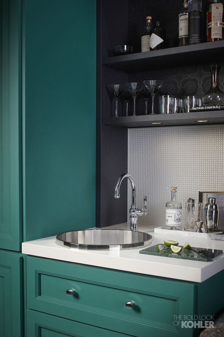 16 best Emerald View Kitchen images on Pinterest | Bar sinks, Galley ...