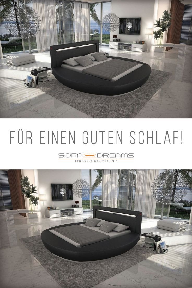 Das Moderne Rundbett Von Sofa Dreams Ist Perfekt Fur Einen Guten Schlaf Qualitat Und Design Dieses Bettes Sind Per Designer Bett Bett Modern Luxusschlafzimmer