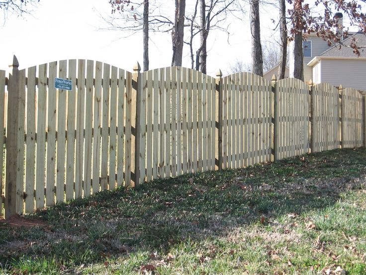 17 Best Images About Wooden Fences On Pinterest