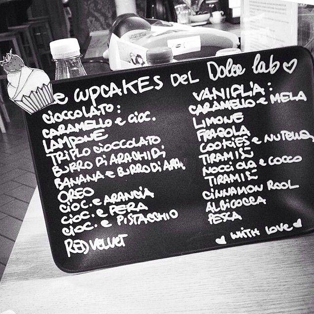 #menù #cupcakes #dolcelab
