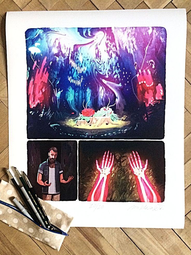 Svatojanská noc - Dominik Miklišák #komiksovakytice #ceskygrimm #kjerben #svatojanskanoc